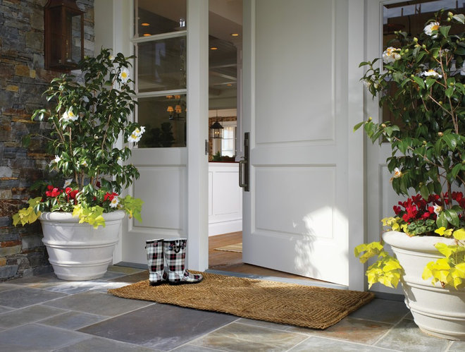 Traditional Entry by Wendi Young Design