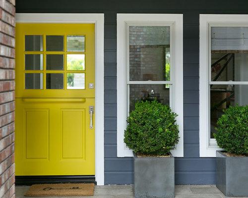 eingang mit kl nt r und haust r hauseingang eingangsbereich gestalten. Black Bedroom Furniture Sets. Home Design Ideas