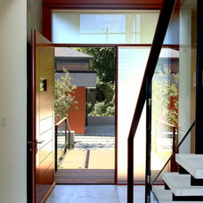 Modern Entry by Balance Associates Architects