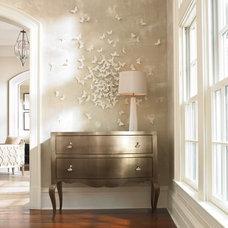 Contemporary Entry by Barbara Schaver @ Furnitureland South