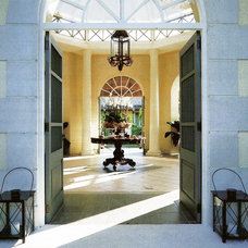 Tropical Entry by Jennifer Bradford Davis Interior Design