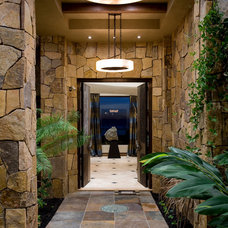 Contemporary Entry by Friehauf Architects Inc.