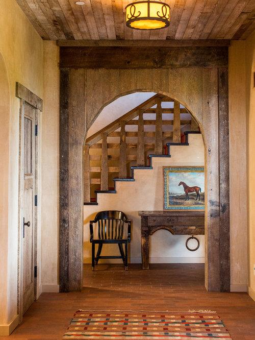 Foyer Grand Ouest Beaurepaire : Entrée sud ouest américain photos et idées déco d