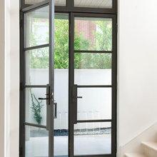 Front Door + Patio