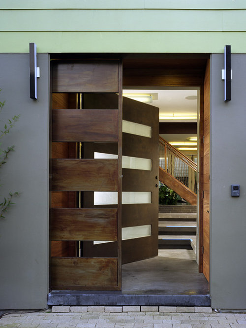 Double Door Security Home Design Ideas Pictures Remodel And Decor