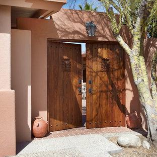 Southwest double front door photo in Phoenix