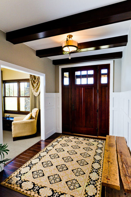Traditional Entry by Werschay Homes