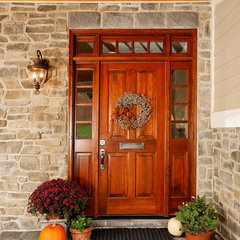 traditional entry by Case Design/Remodeling, Inc.