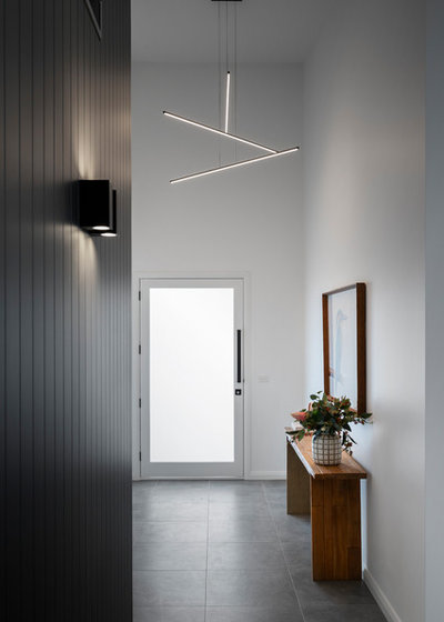 Modern Entry by Studio Black Interiors
