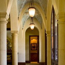 Traditional Entry by Bella Villa Design Studio