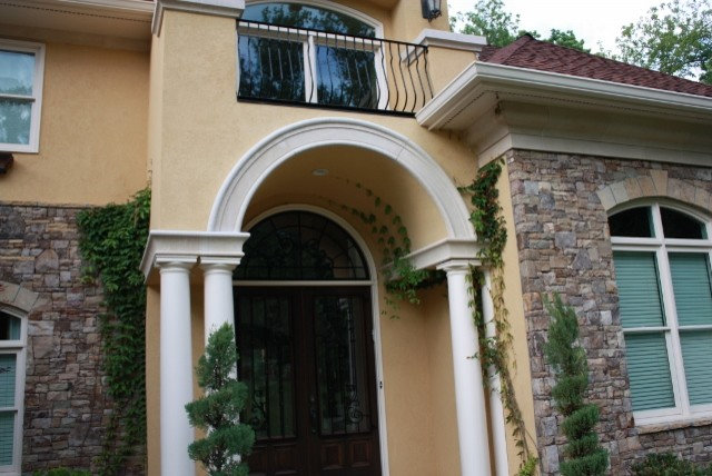 Mediterranean Entry by Southern Stone Crafters LLC