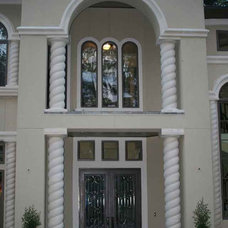 Mediterranean Entry by The Ark Cast Stone