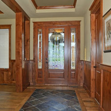 Craftsman Entry by Erin Johnson Interiors, LLC