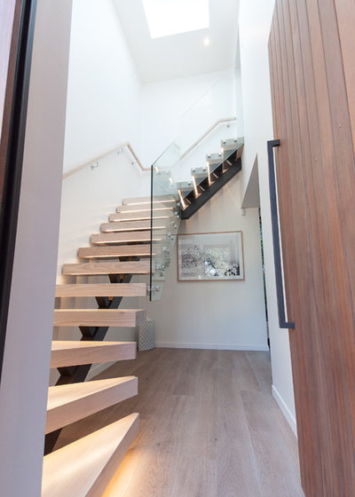 Contemporary Entry by Haven Renovations