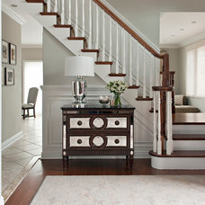 Traditional Entry by Frances Herrera Interior Design