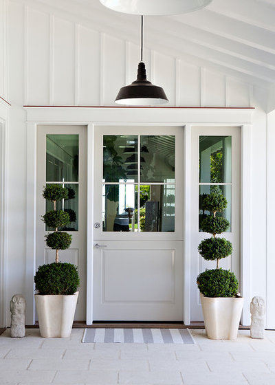 Beach Style Entry by Molly Wood Garden Design