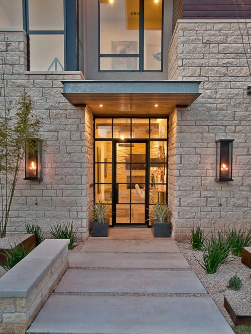 Front door canopy home design ideas pictures remodel and for Modern front door decor
