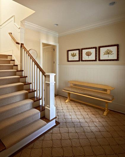 Traditional Entry by Carolina Design Associates, LLC