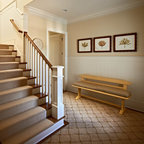 Wool Carpet Runner For Oak Stairs Traditional