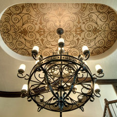 Mediterranean Entry by Decorative & Faux Finishes