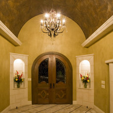 Mediterranean Entry by Stadler Custom Homes