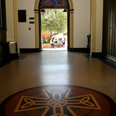 Traditional Entry by Crogan Inlay Floors