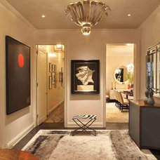 Contemporary Entry by David Scott Interiors