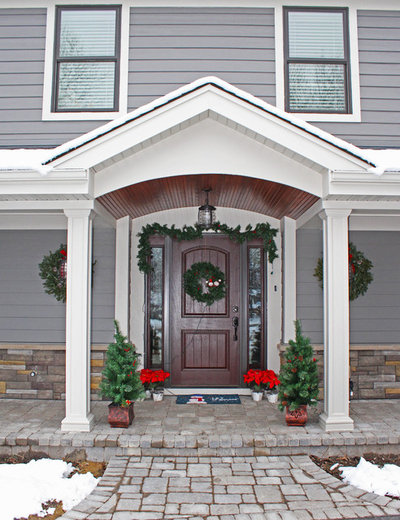 Traditional Entry by Erdmann Exteriors & Construction