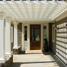 Traditional Entry by Gast Architects