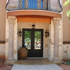 Mediterranean Entry by Summit Country Homes & Remodeling