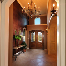 Traditional Entry by Adam Wilson Custom Homes