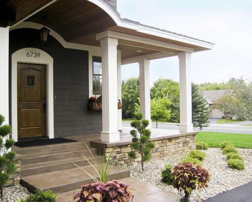 Concrete Porch Houzz