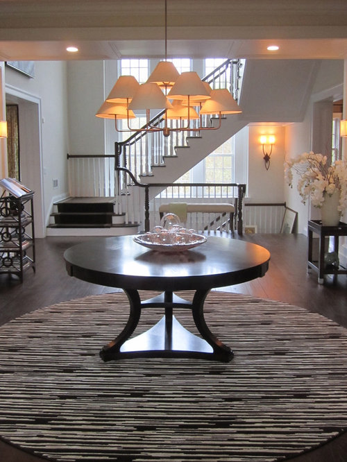 Round Entry Table Home Design Ideas Pictures Remodel And