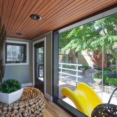 Contemporary Entry by Gary J Ahern, AIA - Focal Point Design
