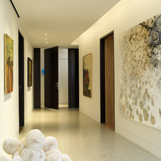 Contemporary Entry by Charles Rose Architects Inc.