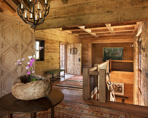 Houzz Rustic Foyer : Rustic entryway design ideas remodels photos