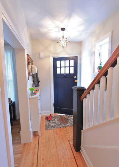 Eclectic Entrance by KMSalter Design