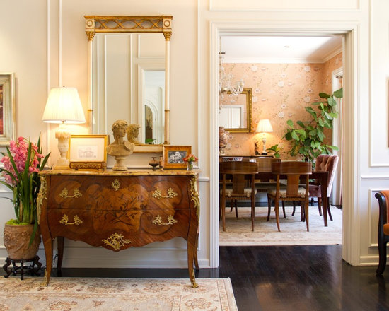 Antique Entryway Table antique foyer table | houzz