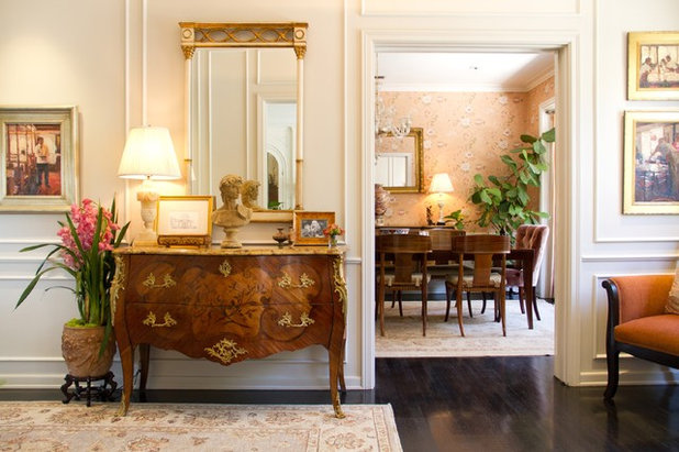 Traditional Entry by Charmean Neithart Interiors