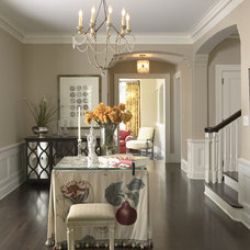 Traditional Entry by Lucy Interior Design