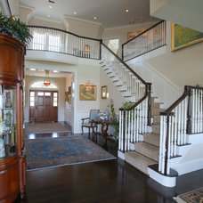 Traditional Entry by Duckham Architecture & Interiors