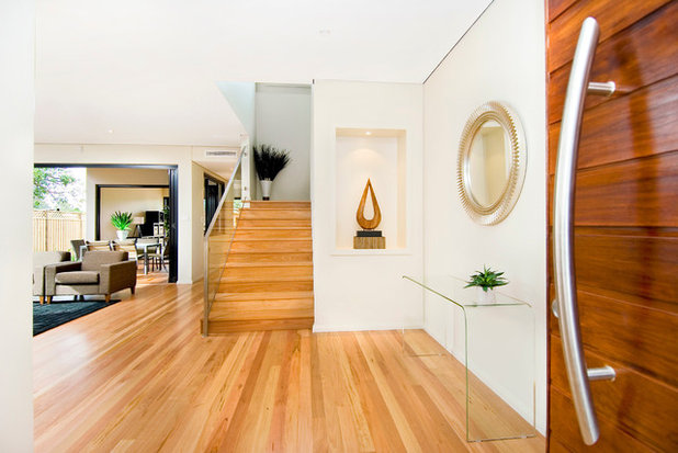 Contemporary Entry by Blue Label Construction