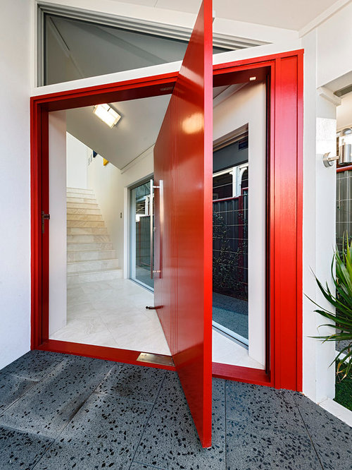 Pivot door home design ideas pictures remodel and decor Pivot entrance doors