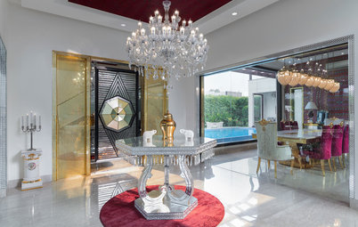 Gurgaon Houzz: A Palatial Home Is Encrusted With Semi-Precious Stones