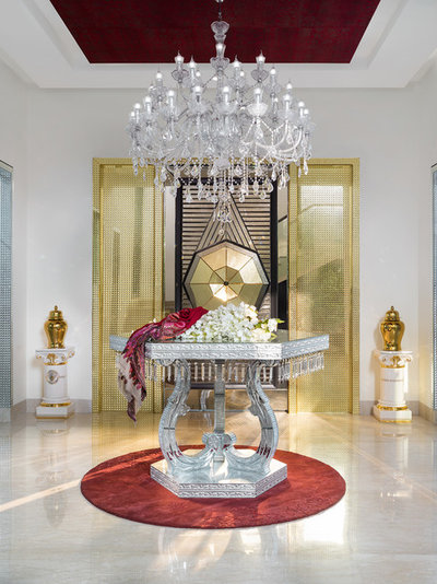 Eclectic Entry by Altus - Luxury Living