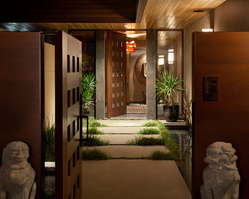 Asian Foyer Design : Asian entryway design ideas remodels photos