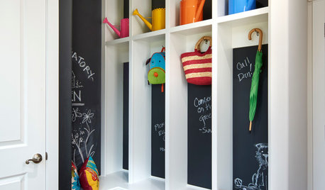 Turn Your Hallway into the Family Launch Pad