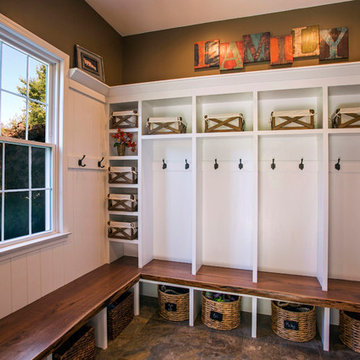 Chester Springs Mudroom and Pantry