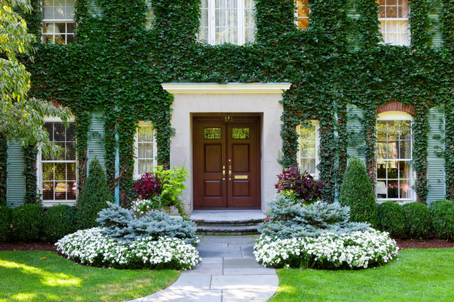 Traditional Entry by Sudbury Design Group
