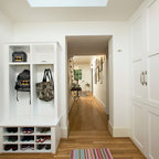 Mill Cabinet Shop Mudroom and Baths - Contemporary - Entry ...
